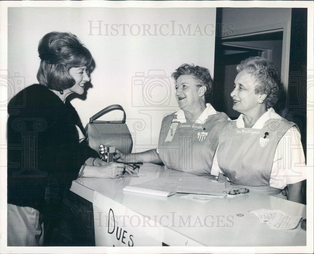 1964 Denver, Colorado Mrs Neil Cullen, Frances Smith, DG Mulligan Press Photo - Historic Images
