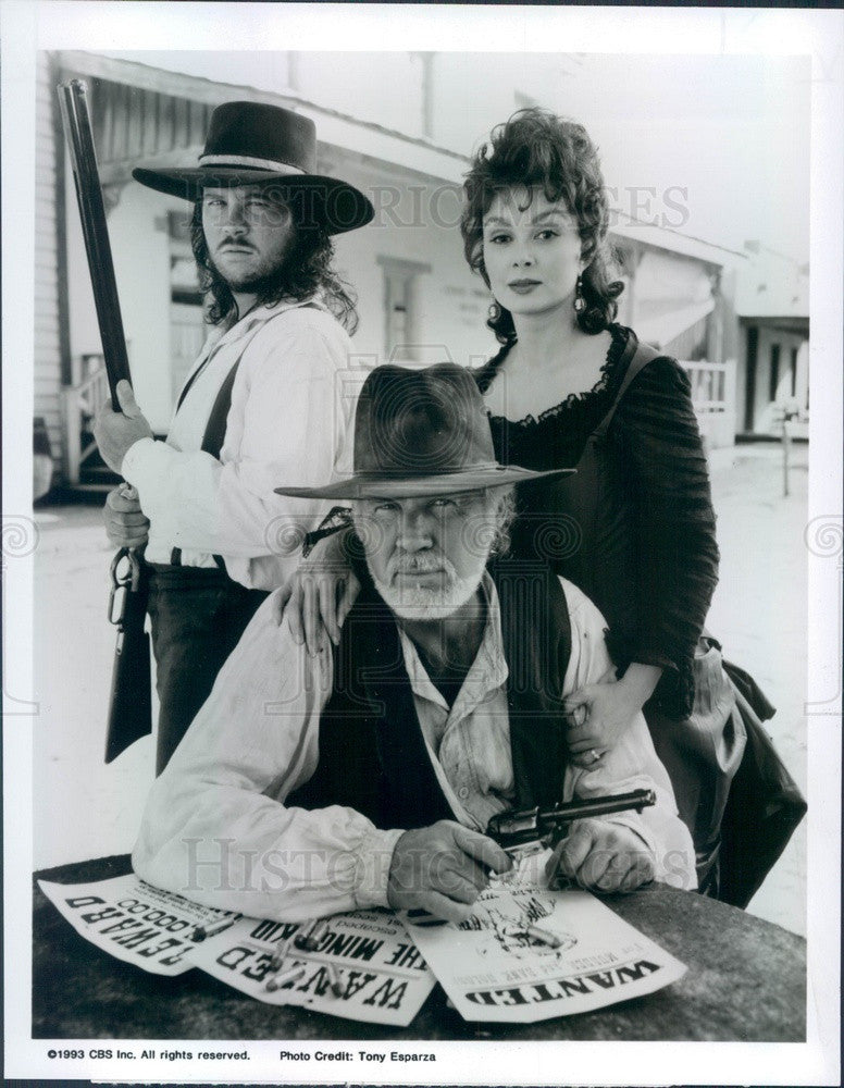 1993 Country Music Singer/Actor Travis Tritt/Naomi Judd/Kenny Rogers Press Photo - Historic Images