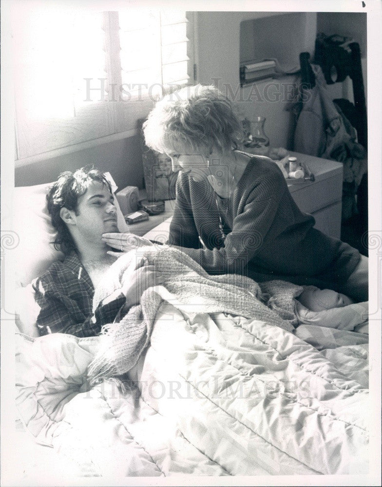 1991 American Hollywood Actors Jill Clayburgh/Neil Barry Press Photo - Historic Images