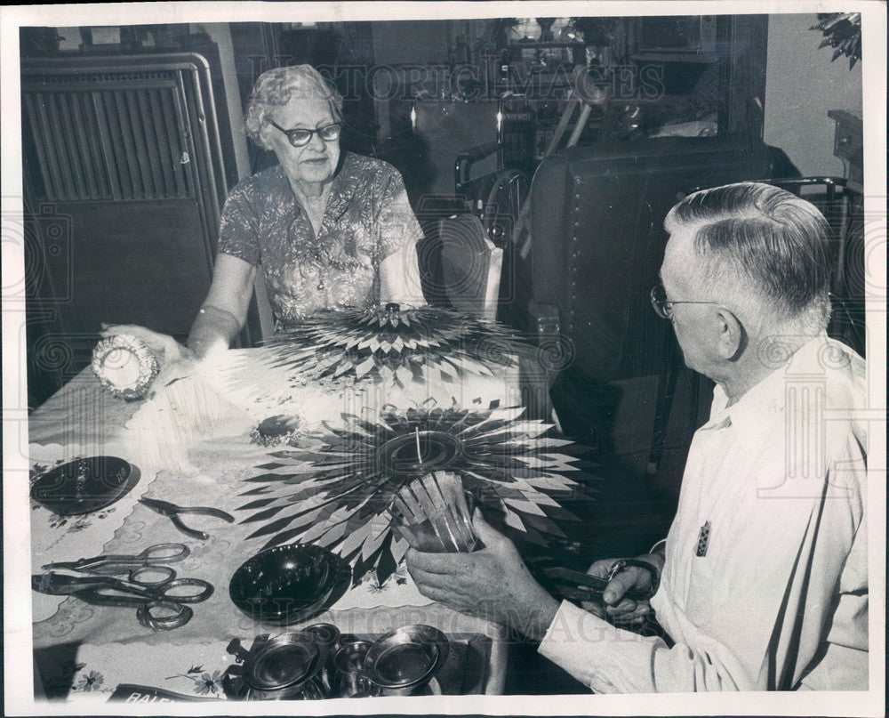 1968 Denver, Colorado Tin Can Artists Mr/Mrs Chester Bruhn Press Photo - Historic Images
