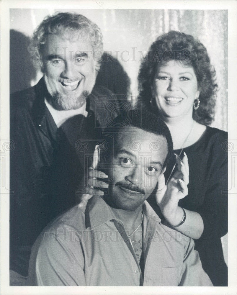 1989 Musicians Phil Marcus Esser, Barbara Bredius, Charlie Latimer Press Photo - Historic Images