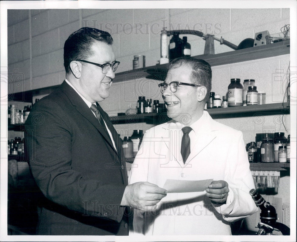 1962 Detroit, Michigan Teamsters Union Counsel William Bufalino Press Photo - Historic Images