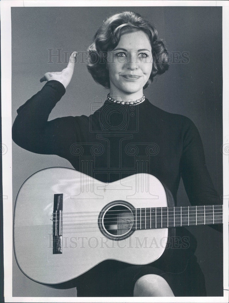 1961 Comedian Peggy Lord Press Photo - Historic Images