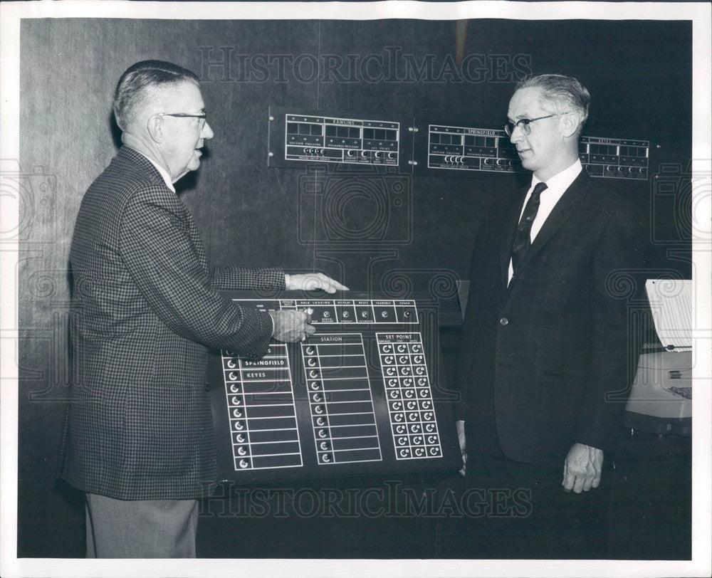 1963 Univ of Denver, CO Chemical Engineering Chairman MT Howerton Press Photo - Historic Images