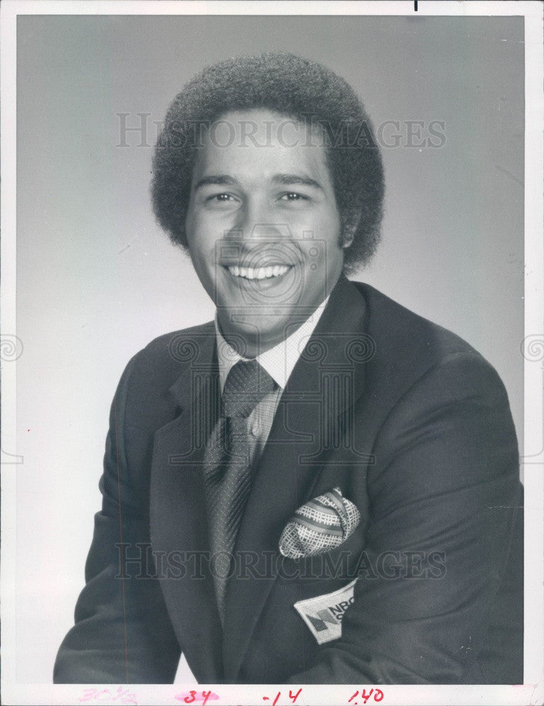 1983 Today Show Host Bryant Gumbel Press Photo - Historic Images