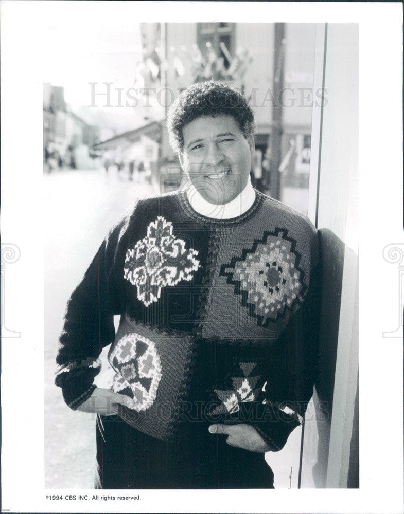 1994 TV Sportscaster Greg Gumbel Press Photo - Historic Images