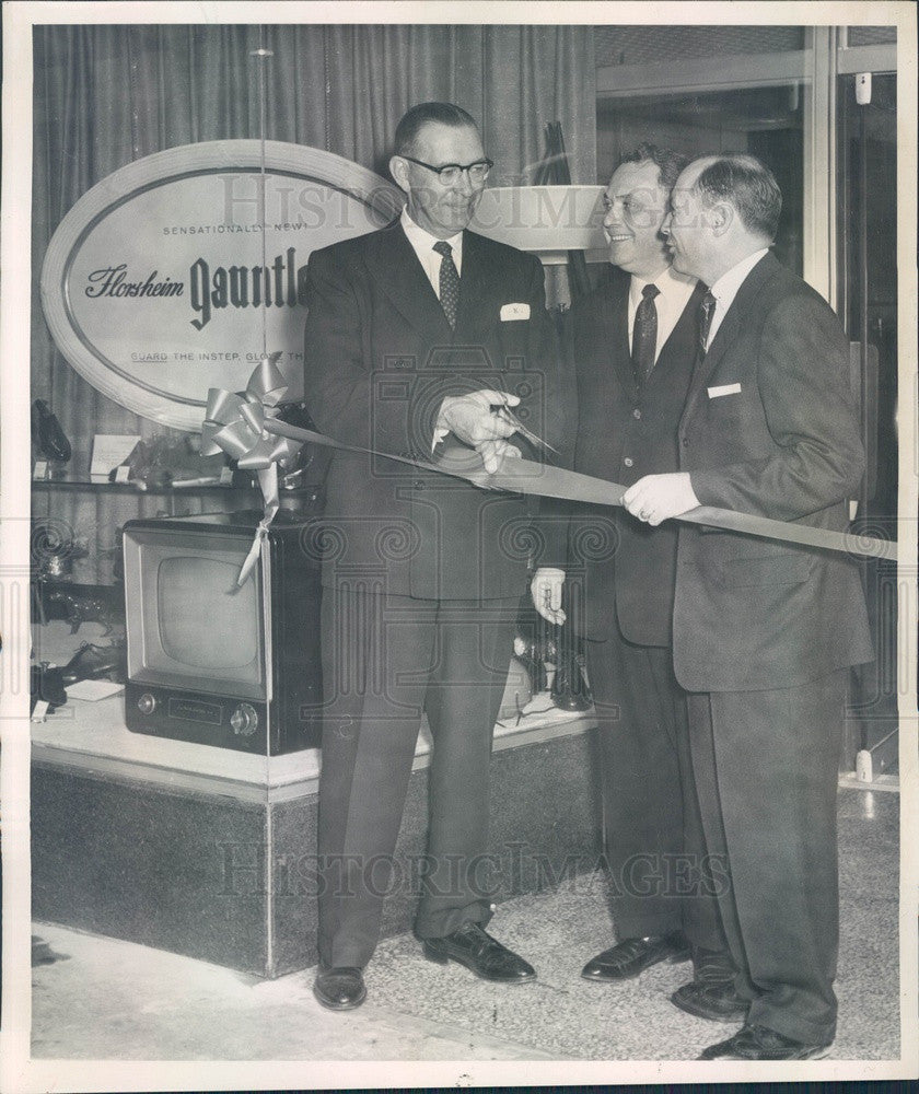 1955 Denver, Colorado Chamber of Commerce President Walter Koch Press Photo - Historic Images