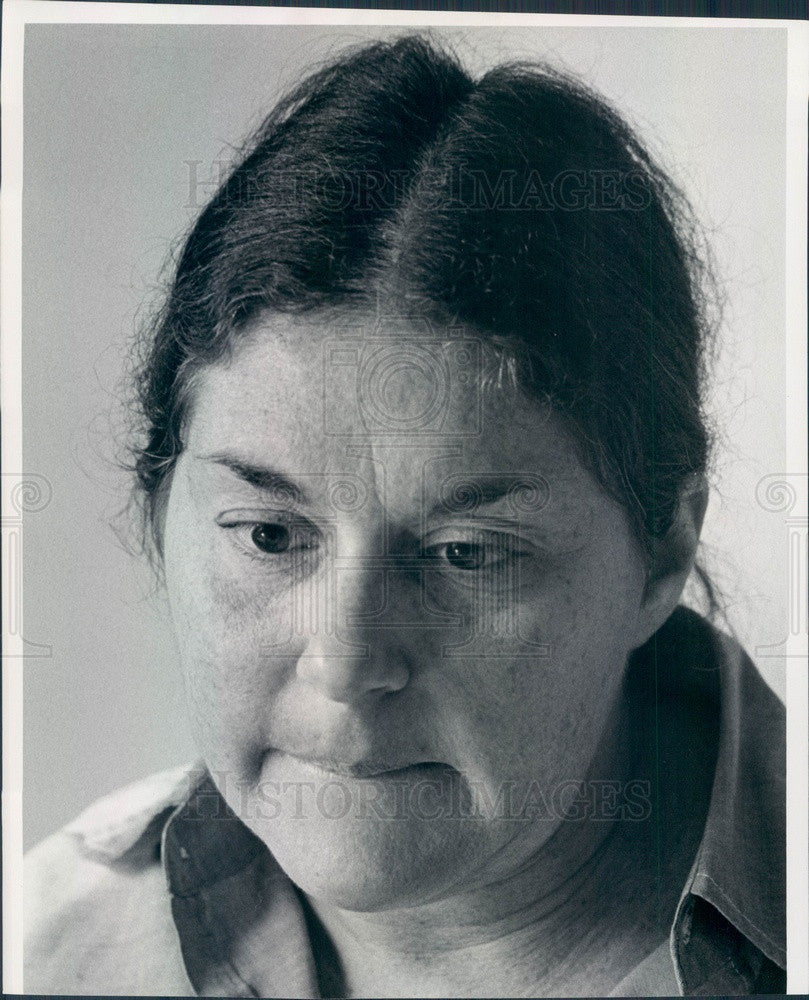 1977 National President of NOW, Feminist, Atty, Author Karen Decrow Press Photo - Historic Images