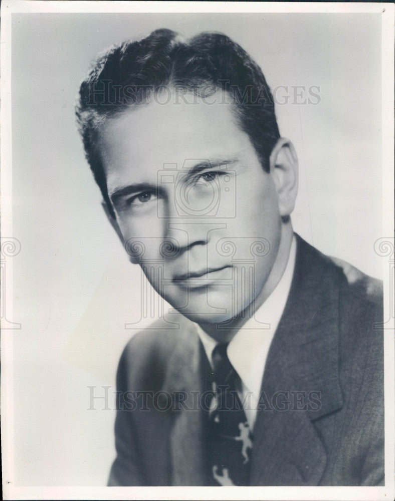 1950 Singer & Actor Dickinson Eastham Press Photo - Historic Images