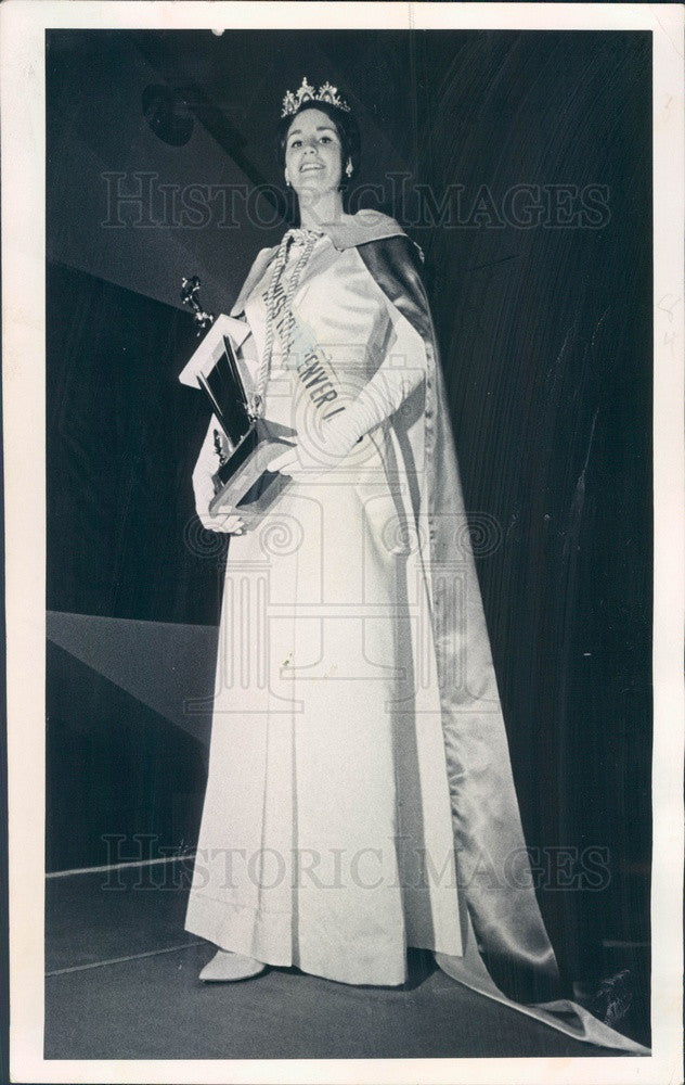 1965 Miss Tall North America Adria Easton of Boulder, Colorado Press Photo - Historic Images