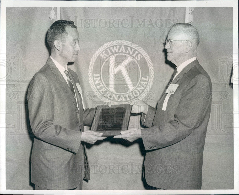1964 CO, Rocky Mtn Kiwanis Club President Tom Carrillo Press Photo - Historic Images