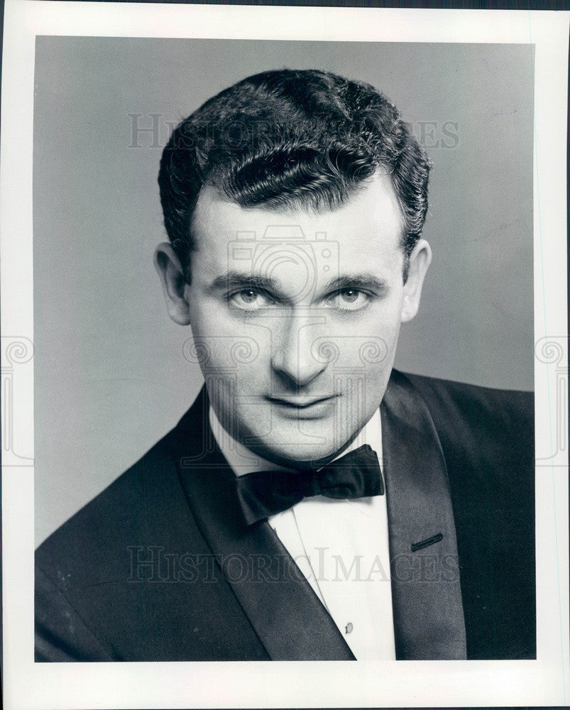 1961 Pianist Don Anders Press Photo - Historic Images