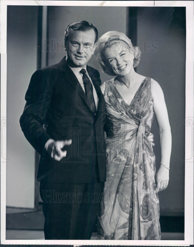 1964 American Comedian Jack Paar/Actor/Singer Helen O'Connell Press Photo - Historic Images