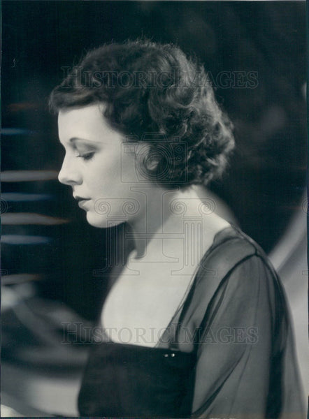 1930 Actress Rita LaRoy Press Photo - Historic Images