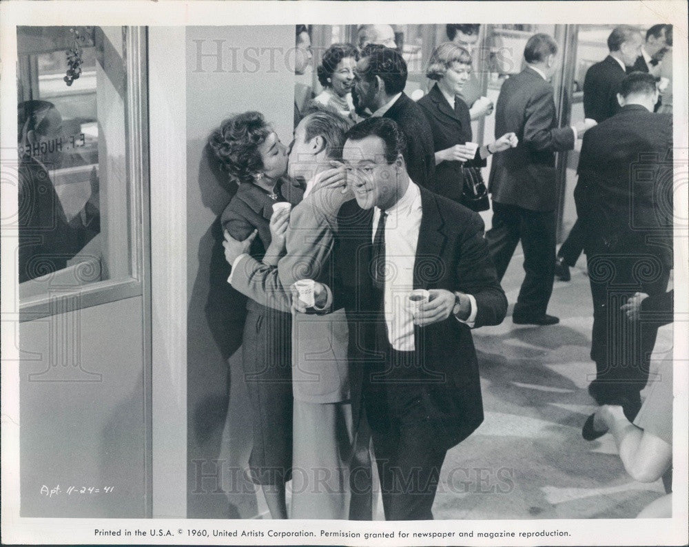 1960 Hollywood Actor Jack Lemmon Press Photo - Historic Images