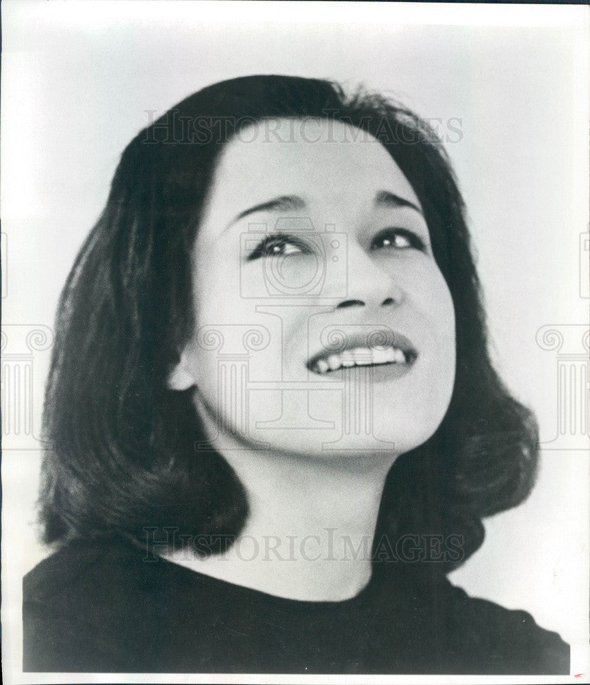 1966 Colorado Denver Post Opera Singer Nancy Killmer Press Photo - Historic Images