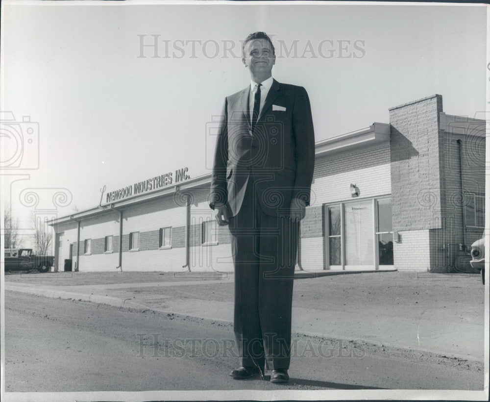 1962 Denver, CO Livengood Industries President Charles Livengood Press Photo - Historic Images