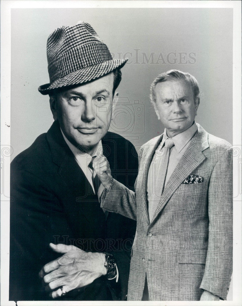 1986 American Author/Radio Show Host/Comedian Jack Paar Press Photo - Historic Images