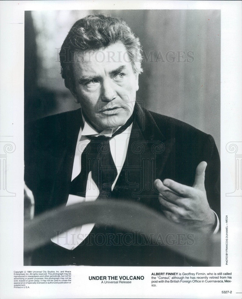 1984 English Hollywood Actor Albert Finney in Under the Volcano Press Photo - Historic Images