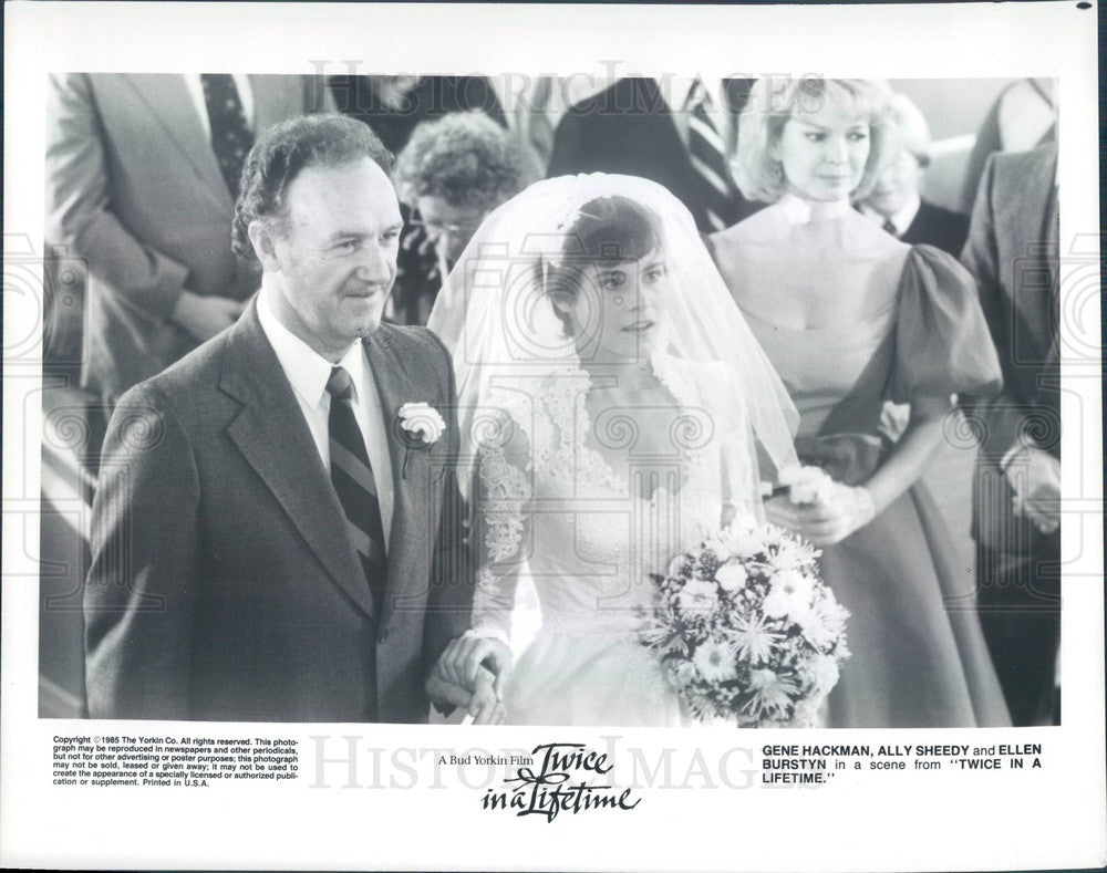 1985 Hollywood Actors Gene Hackman/Ally Sheedy/Ellen Burstyn Press Photo - Historic Images