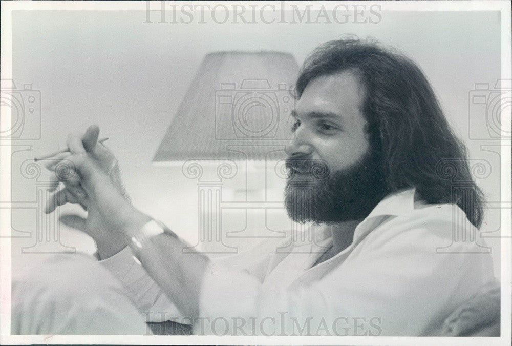 1982 Boulder, Colorado Acting Teacher Alan Goldman Press Photo - Historic Images