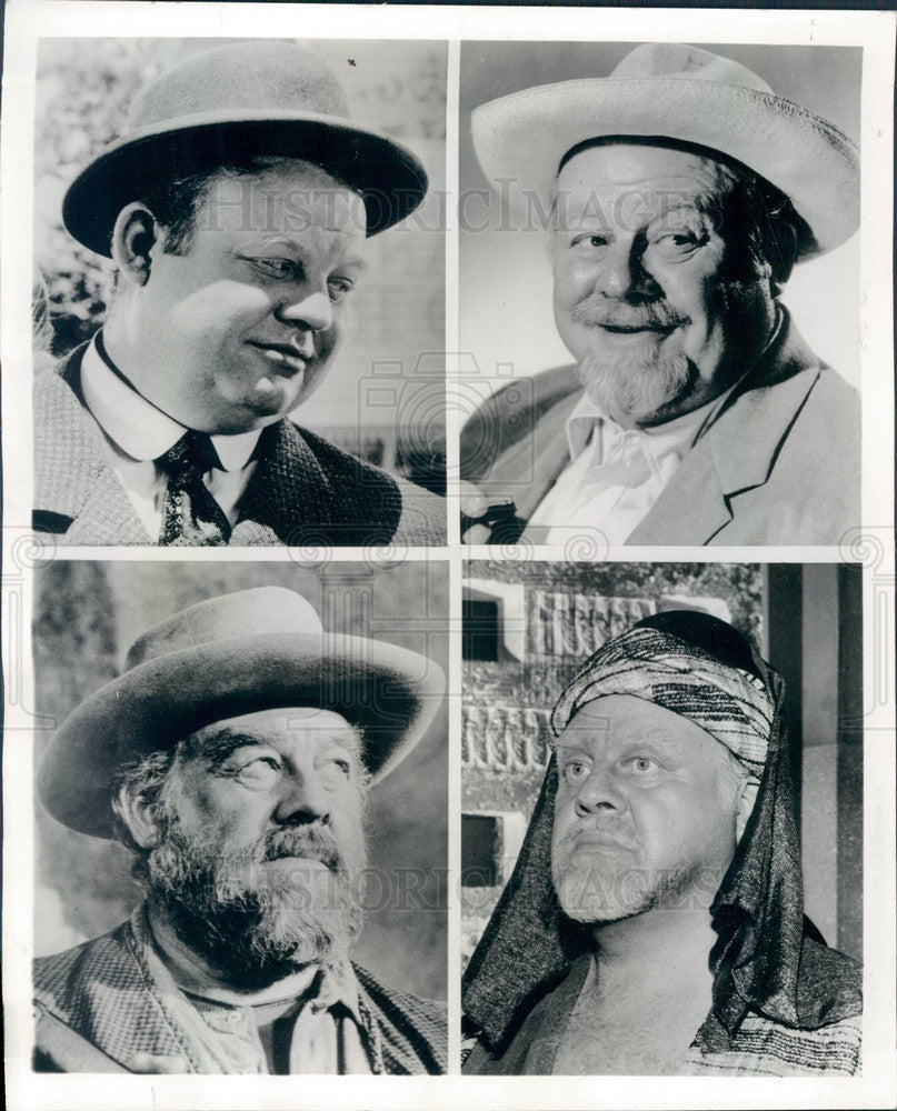 1960 Broadway & Hollywood Actor & Singer Burl Ives Press Photo - Historic Images