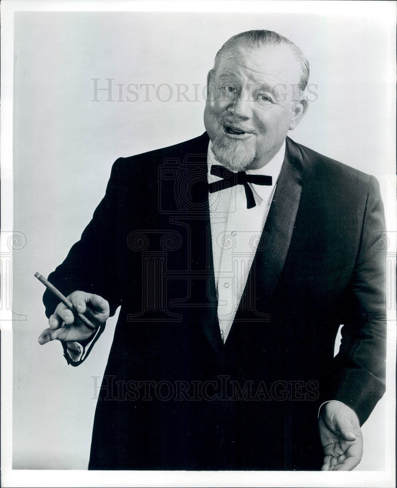 1968 Broadway & Hollywood Actor & Singer Burl Ives Press Photo - Historic Images