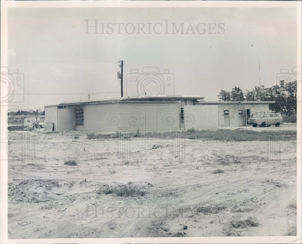 1966 Bradenton, Florida Juvenile Detention Home Construction Press Photo - Historic Images