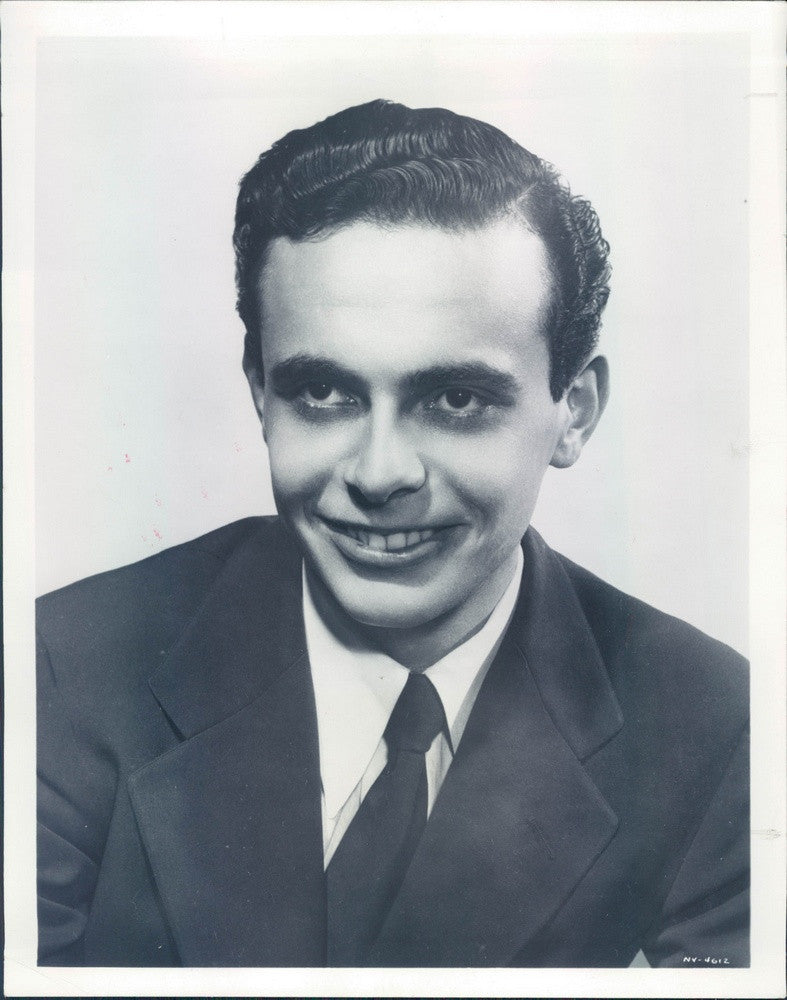 1953 American Conductor/Composer Lorin Maazel Press Photo - Historic Images