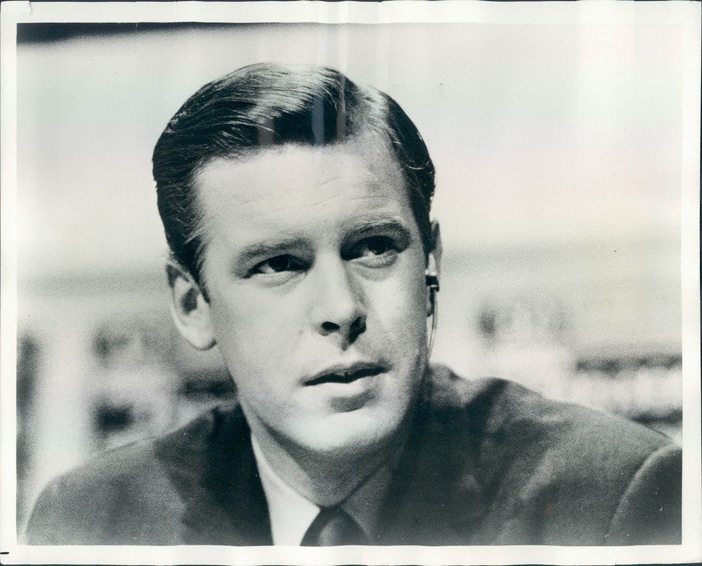 1968 Journalist & News Anchor Peter Jennings Press Photo - Historic Images