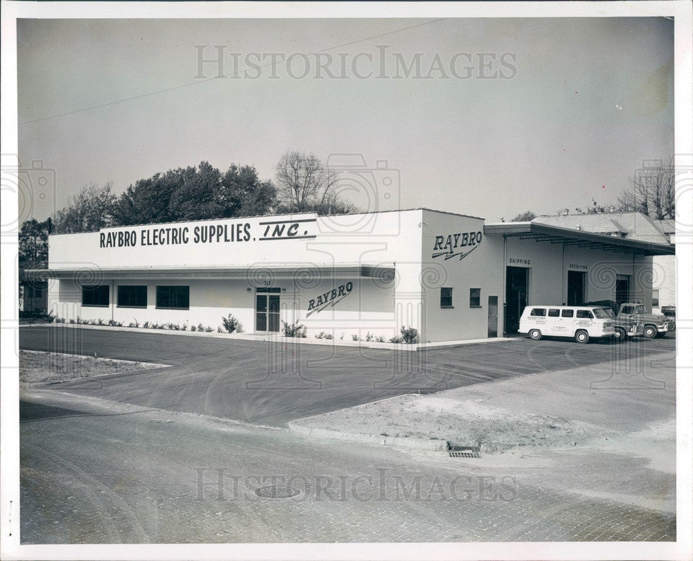 1963 St Petersburg, Florida Raybro Electric Supplies Inc Press Photo - Historic Images