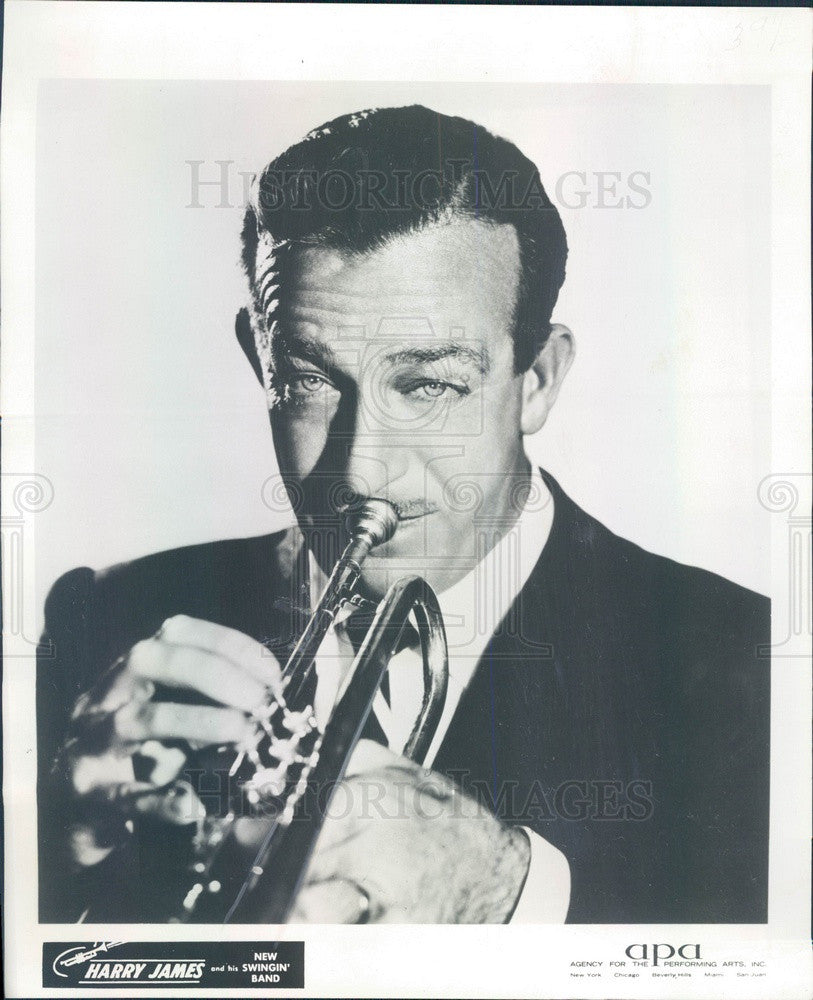 1965 Trumpeter Harry James Press Photo - Historic Images