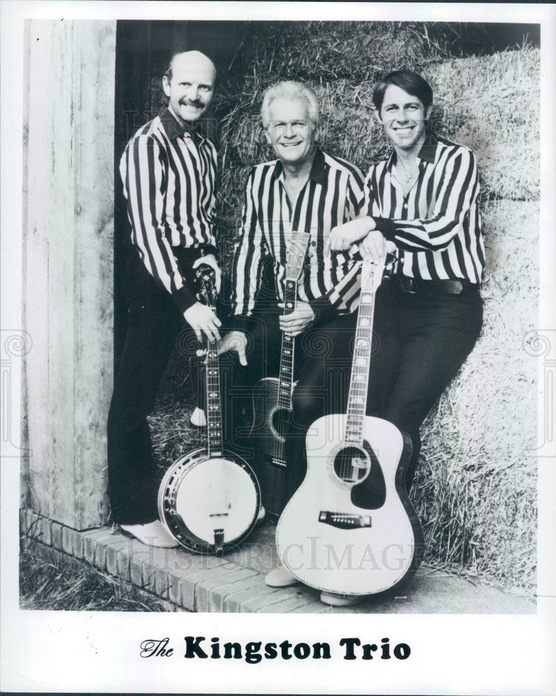 Undated American Folk/Pop Music Group The Kingston Trio Press Photo - Historic Images