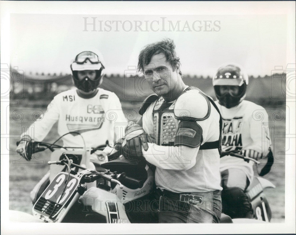 Undated TV Series Buck Rogers Actor Gil Gerard Press Photo - Historic Images