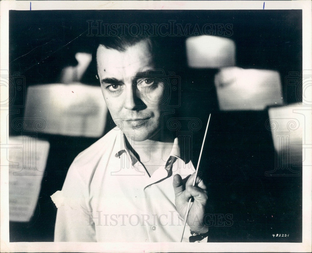 1965 Detroit Symphony Orchestra Conductor Sixten Ehrling Press Photo - Historic Images