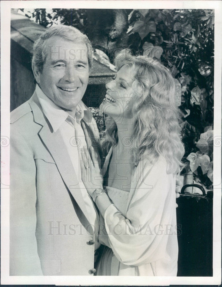 1981 Emmy Winning Entertainer Perry Como & Cheryl Ladd Press Photo - Historic Images