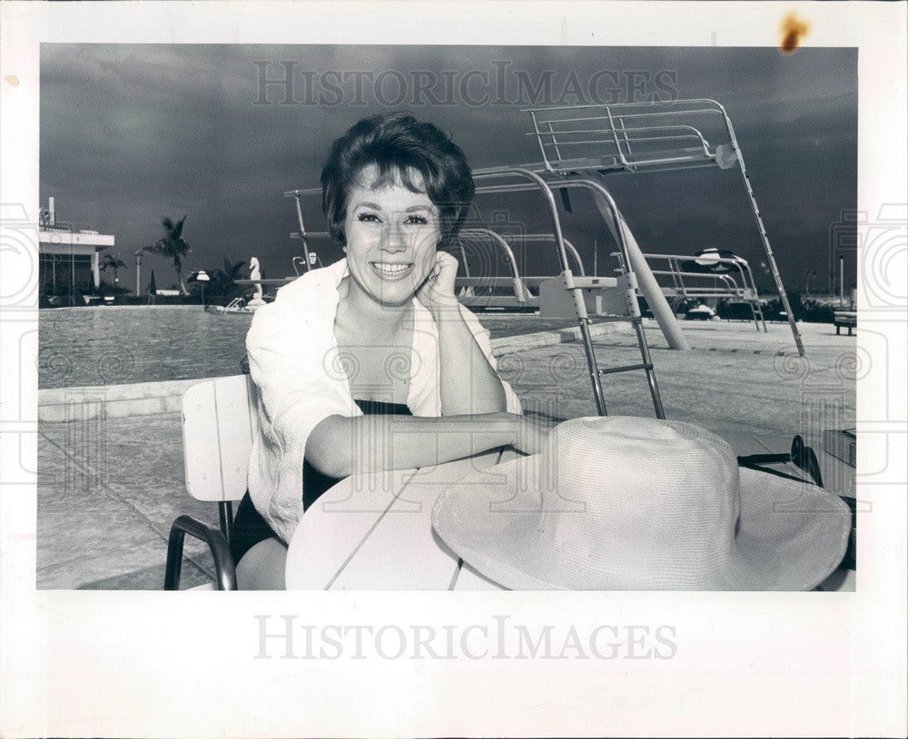 1964 Broadway Actress & Singer Florence Colins Press Photo - Historic Images