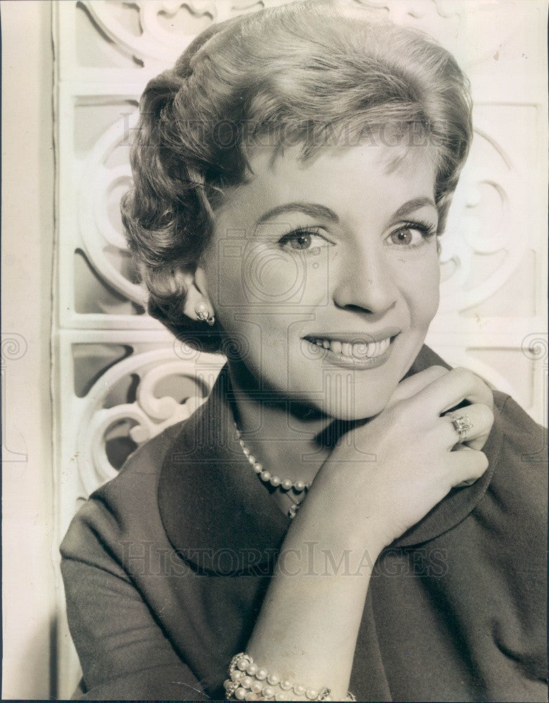1962 Actress & Singer Dorothy Collins Press Photo - Historic Images