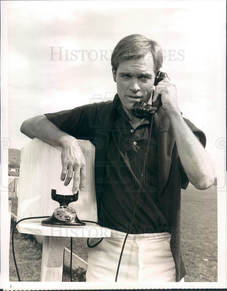 1977 Hollywood Actor Stephen Collins Press Photo - Historic Images
