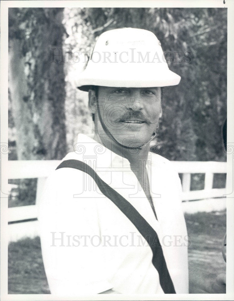 1983 American Hollywood Actor & Narrator Stacy Keach Press Photo - Historic Images