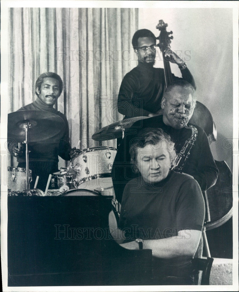 1972 The JPJ Jazz Quartet Press Photo - Historic Images
