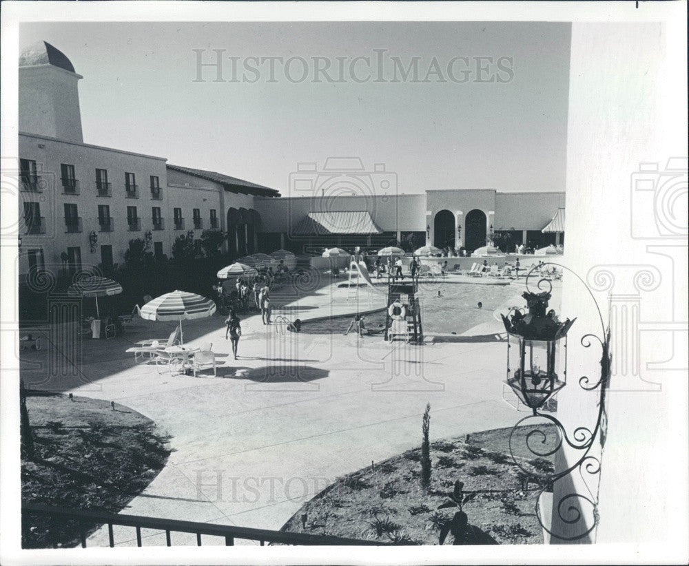 1973 Scottsdale, Arizona Scottsdale Hilton Press Photo - Historic Images