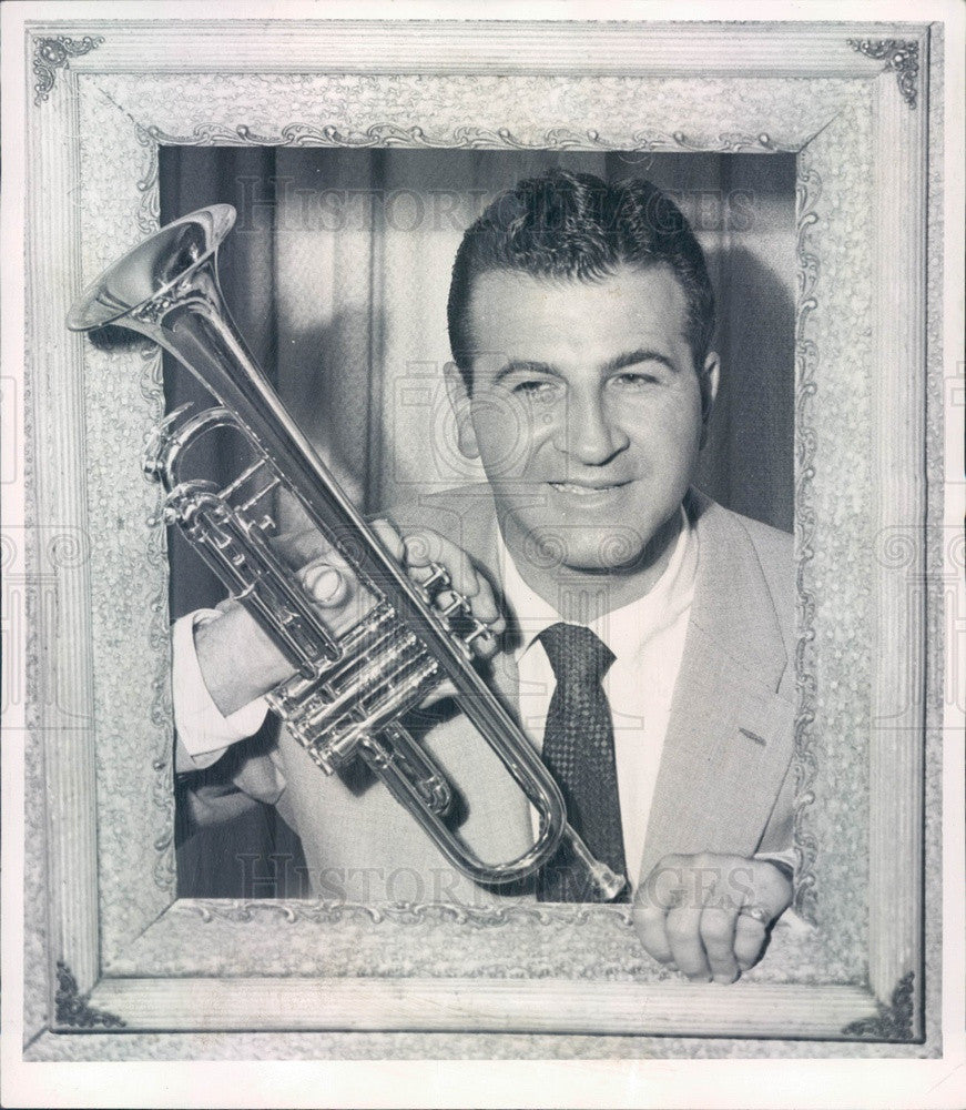 1953 Swing Music Bandleader Dick Jurgens Press Photo - Historic Images