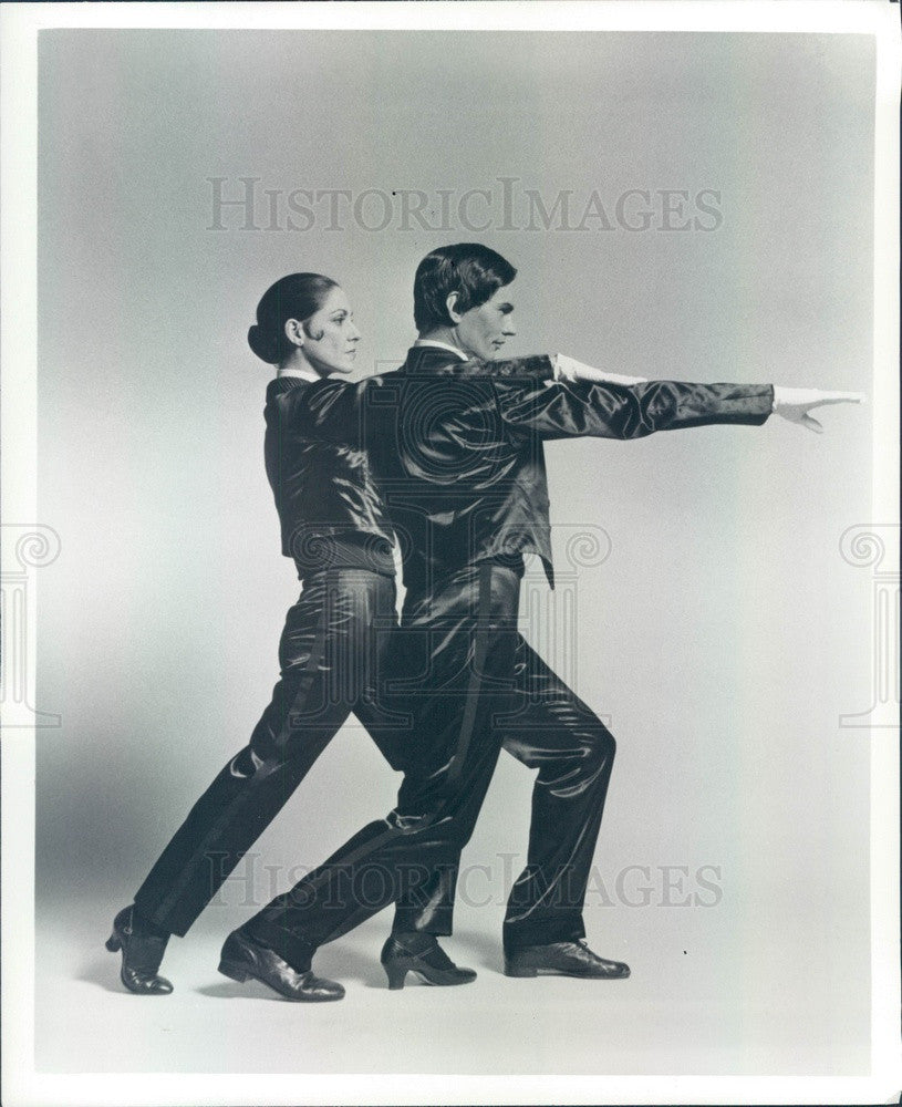 1977 Pennsylvania Ballet Company, Alba Calzada & David Kloss Press Photo - Historic Images