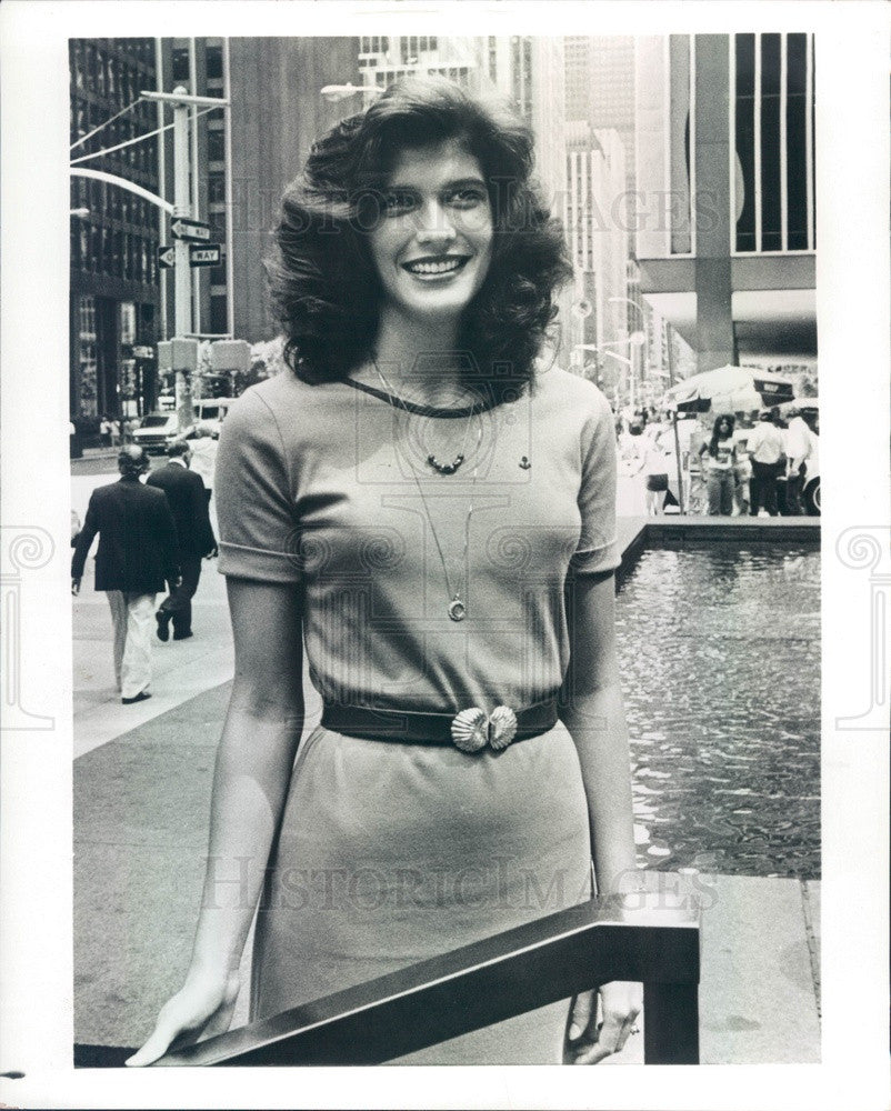 1981 America's Junior Miss Julie Bryan Press Photo - Historic Images