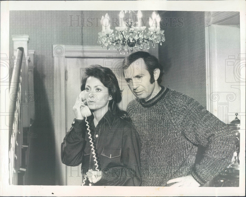 1972 Actors Elizabeth Ashley & Ben Gazzara Press Photo - Historic Images