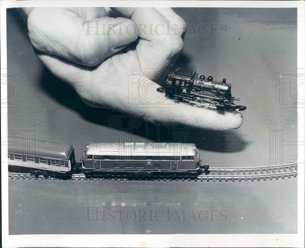 1978 St Petersburg, Florida Model Train Press Photo - Historic Images