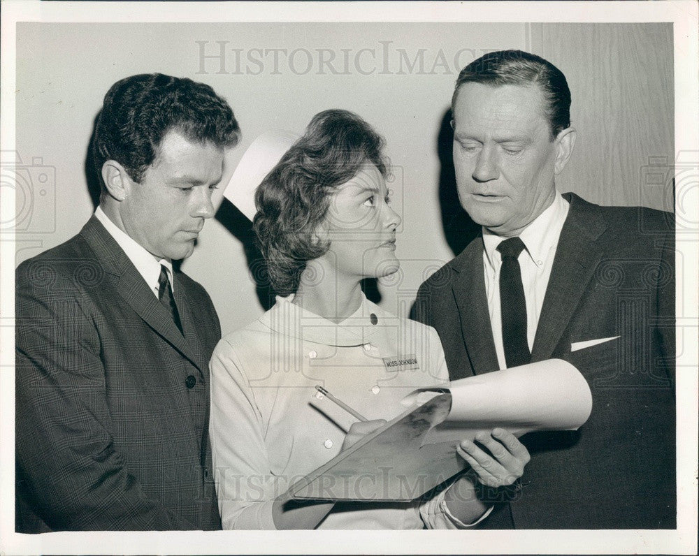 1962 Hollywood Actor Wendell Corey Press Photo - Historic Images