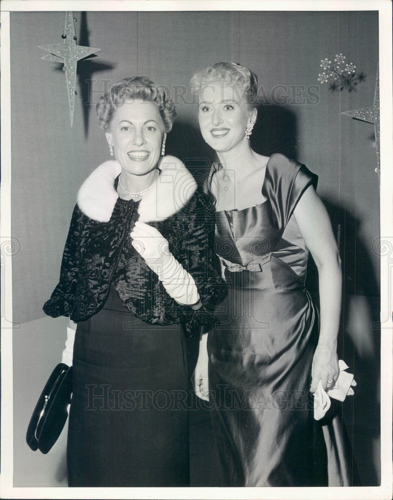 1957 Stage/Film/TV Academy Award Winning Actress Celeste Holm Press Photo - Historic Images