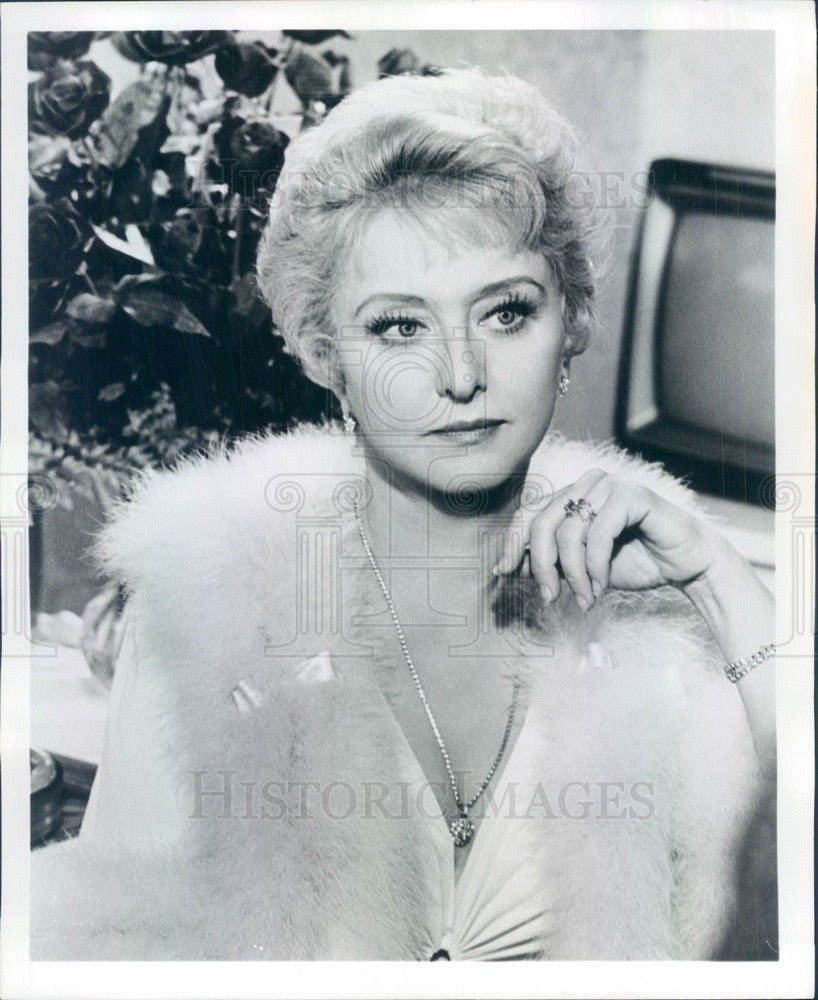 1974 Stage/Film/TV Academy Award Winning Actress Celeste Holm Press Photo - Historic Images